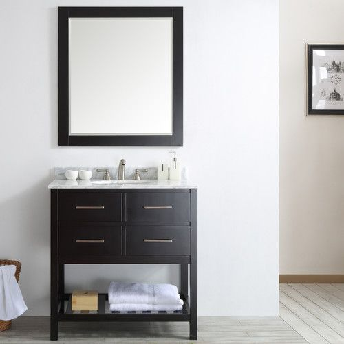 "Found it at AllModern - Foligno 36"" Single Vanity Set with Mirror"