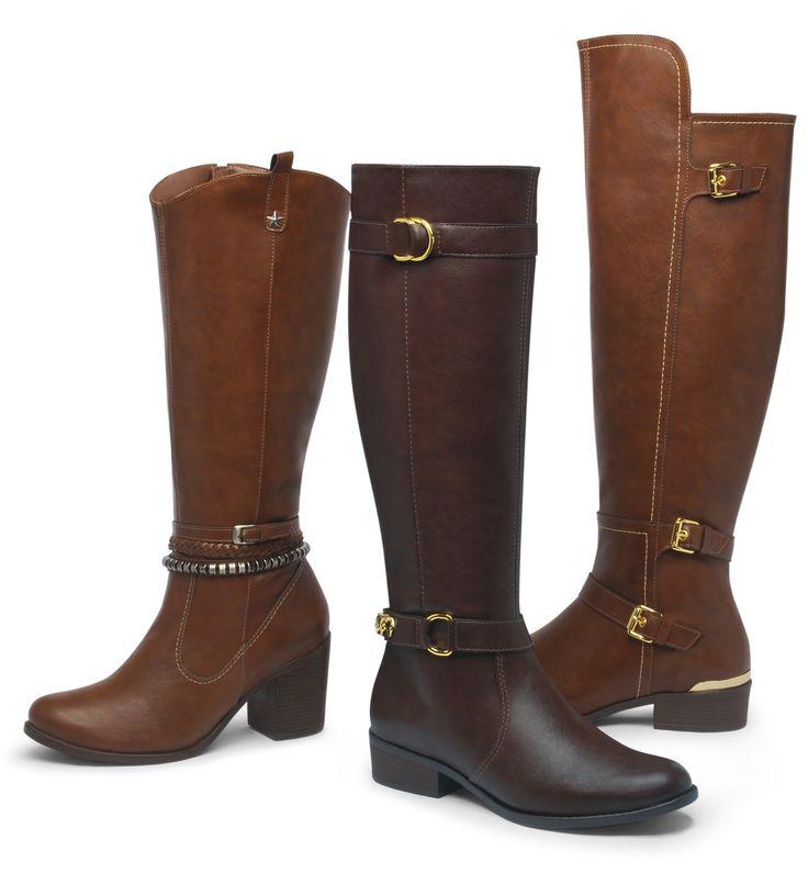 botas montaria - winter boots - marrom - Inverno 2015 - Ref. 15-1101 | 15-2701 | 15-5201