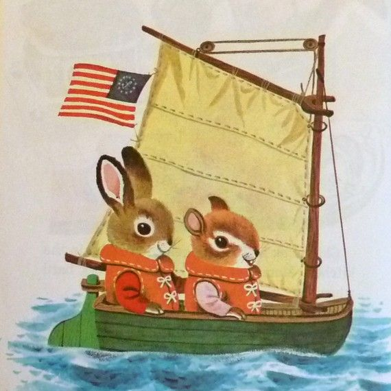 vintage richard scarry; I LOVE Richard Scarry--and always have.