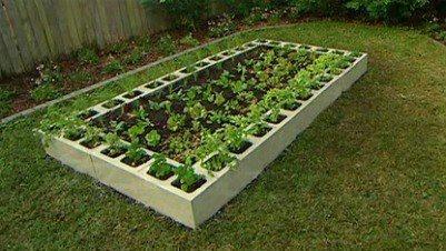 .Järjestelmällinen kukkapenkki/kasvimaa!