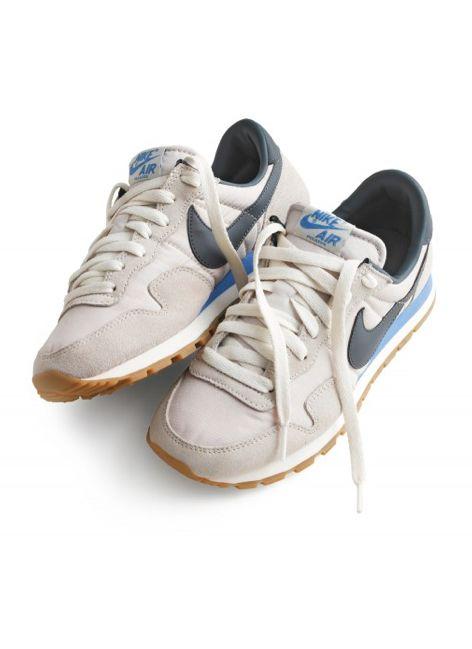 Oohh old school style Nike Air sneaks. J. Crew