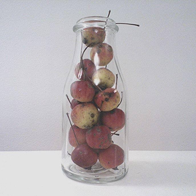 apple in the bottle