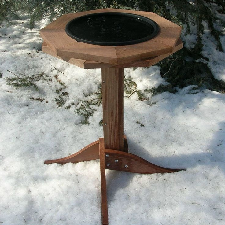 Songbird Essentials Heated Bird Bath | from hayneedle.com