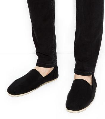 New Look Black Espadrilles #shoes #offduty #covetme