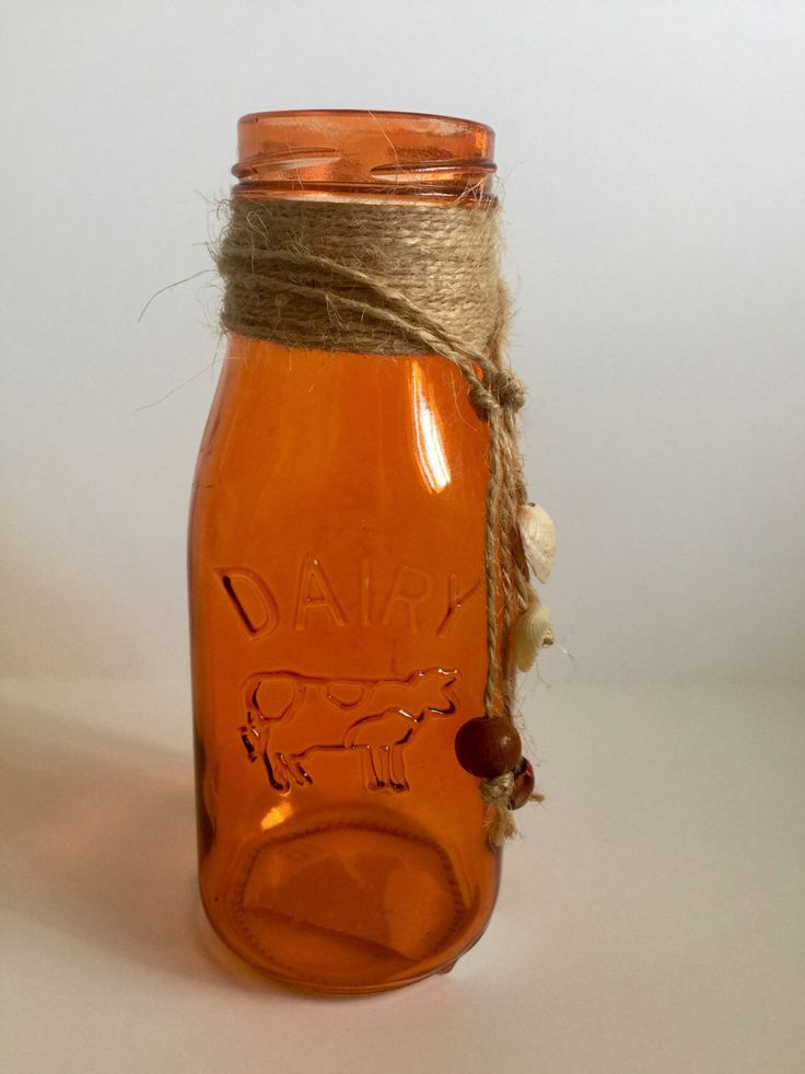 A personal favorite from my Etsy shop https://www.etsy.com/listing/469344681/unique-old-milk-bottle-amber-in-color