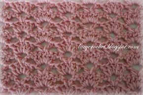 Lovely Shells Baby blanket ~ Alternating Shells Crochet Stitch ~ free pattern