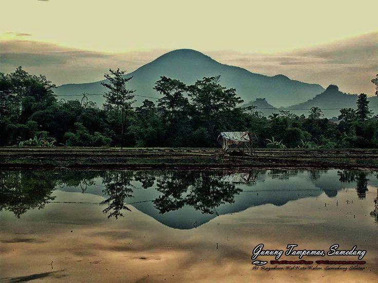 Tampomas Mountain At Ragadiem, Sumedang, West Java, Indonesia