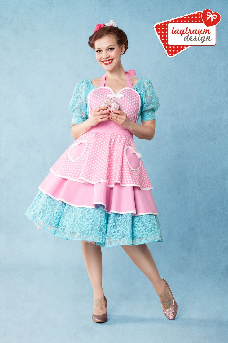 Peggy Sue ♥ Pink Candy ♥ Apron www.tagtraum-design.com