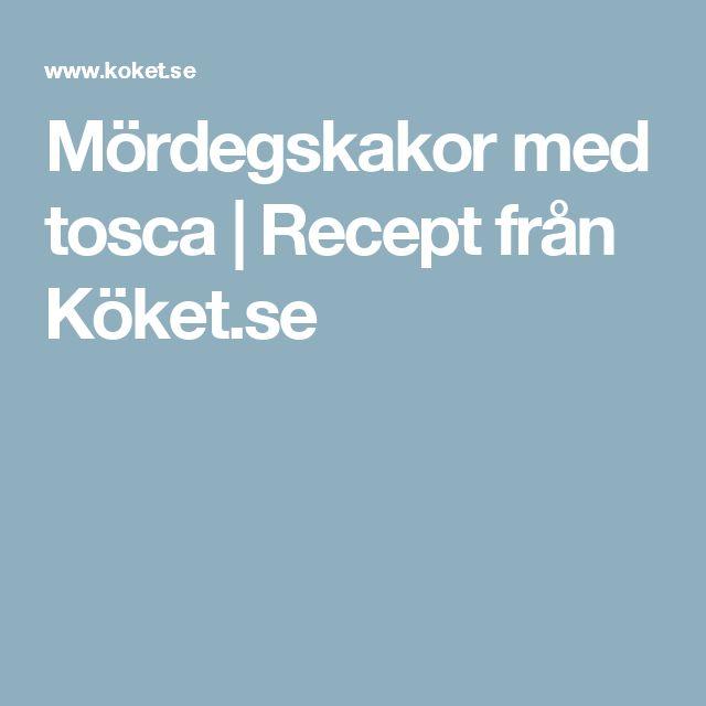 Mördegskakor med tosca | Recept från Köket.se