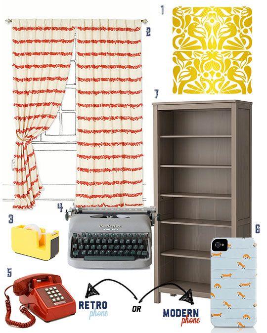 Desk Design Inspiration from Wes Anderson Films