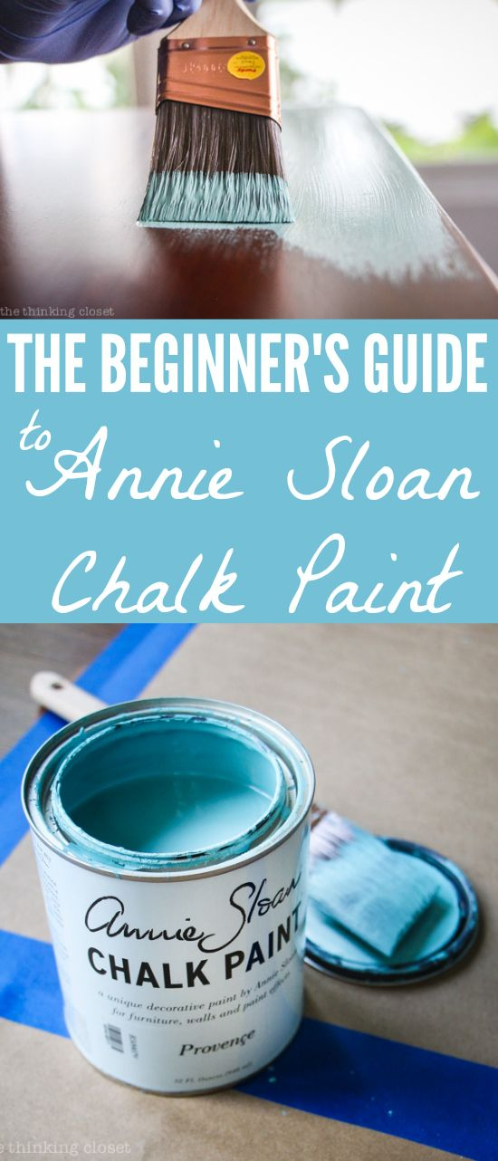 The Beginner's Guide to Using Annie Sloan Chalk Paint & Wax: One Beginner's Tips to Another! | I let my intimidation over using Chalk Paint® Decorative Paint by Annie Sloan keep me from exploring the medium for way too long.  Now that I have finally given it a whirl, I'm eager to empower other beginners to give it a go.  It's SO much easier than you think it is!   Especially with this step by step run-down.