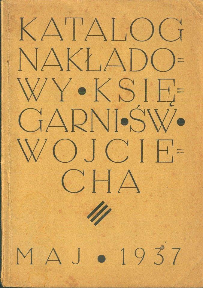Katalog nakładowy księgarni Św. Wojciecha (1937)