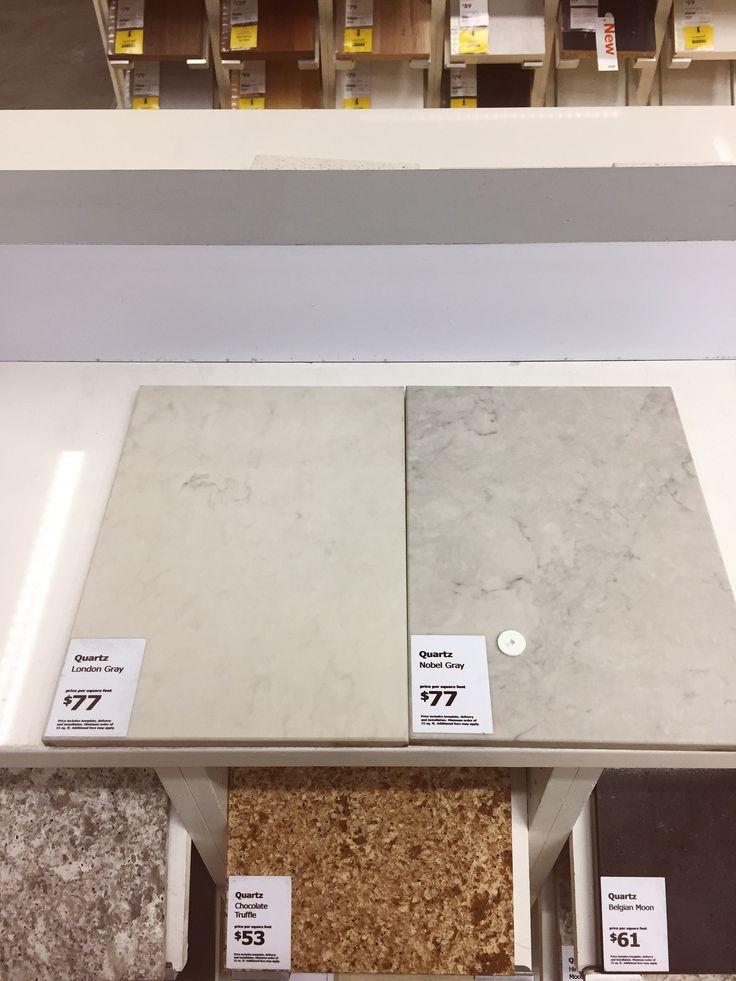 london grey vs nobel grey, caesarstone