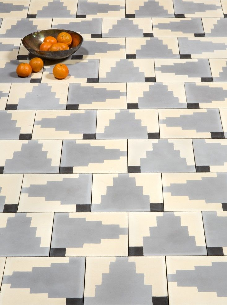 Dubbed the Native collection, Commune Design's new cement tiles for Exquisite Surfaces take inspiration from Native American and Scandinavian textile and p