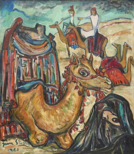 Irma Stern 'Camel Riders'