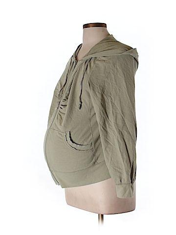 Liz Lange Maternity Women Zip Up Hoodie Size L (Maternity)  - Too cute! Looks cozy.   $21.99 on 5.15.16 ThredUp find