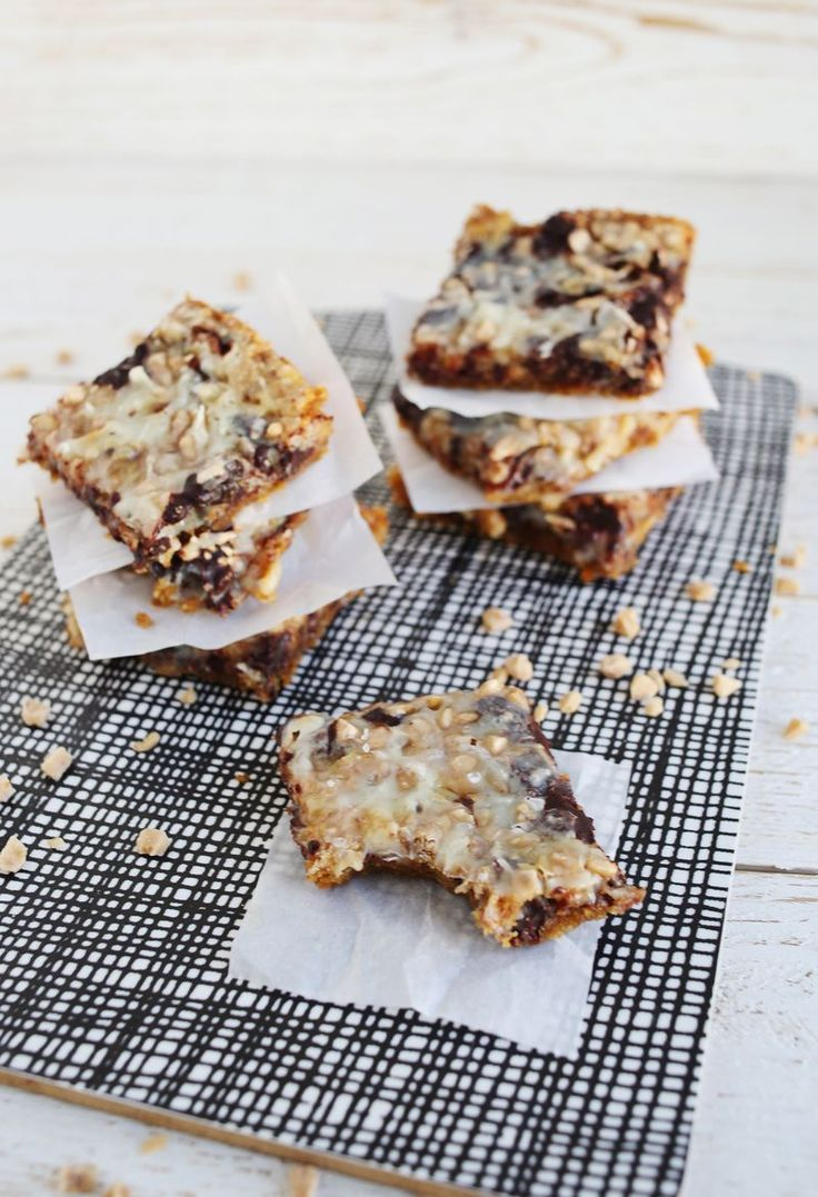 coconut toffee bars