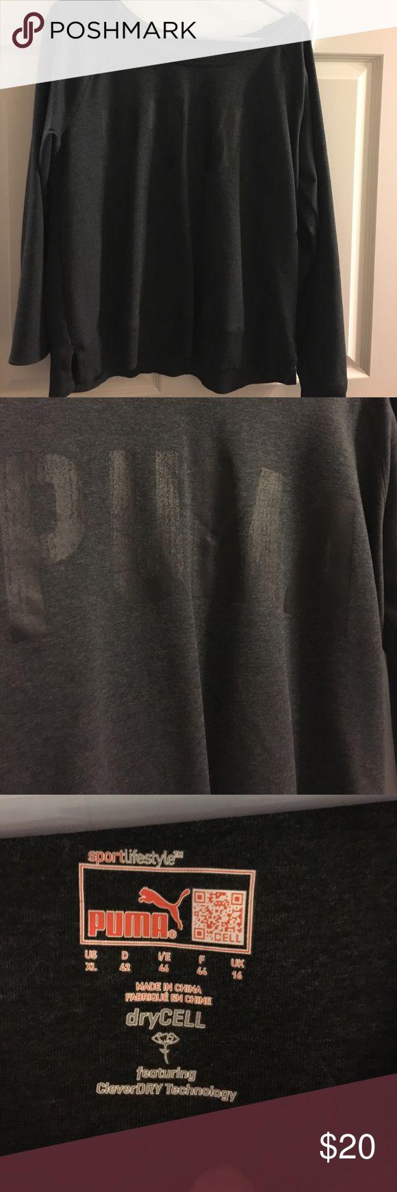 PUMA sweatshirt EUC. Comes from smoke free home. Bundle for discount. Or make an offer. Puma Tops Sweatshirts & Hoodies