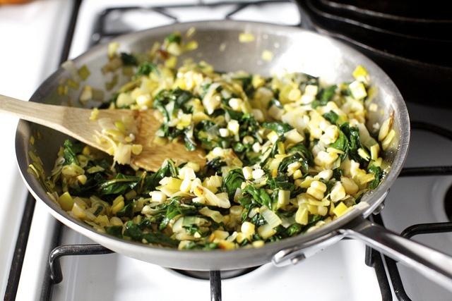 Smitten Kitchen's Leek, Chard, and Corn Flatbread | Appetizers ...