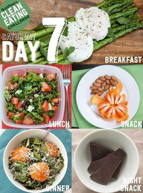 DAY 7 - Take BuzzFeed's Clean Eating Challenge, Feel Like A Champion At Life