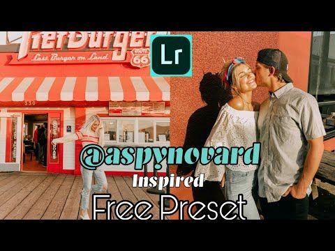 How to Edit Like @aspynovard l Free Aspyn Ovard Inspired Preset
