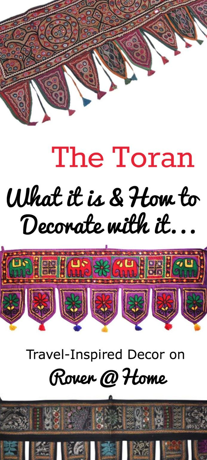 How to Decorate with a Toran