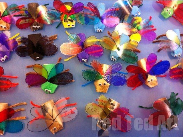 Doing bugs in your Science lessons? Why not make some crafty mini  beasts to go with it?