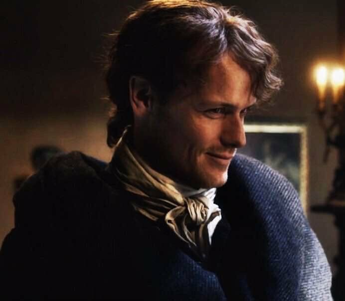 He's got that look... ♥️♥️♥️ Sam Heughan as Jamie Fraser - Outlander_Starz Season 3 Voyager - October 2017