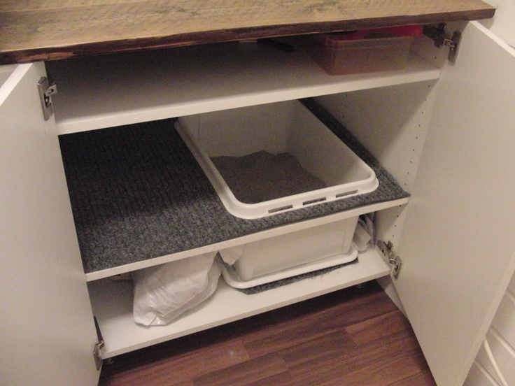 Awesome cheap DIY cat litter box-may give 30lb Joey a patio box, to the left there is a high enough entry area the small dogs cant get into