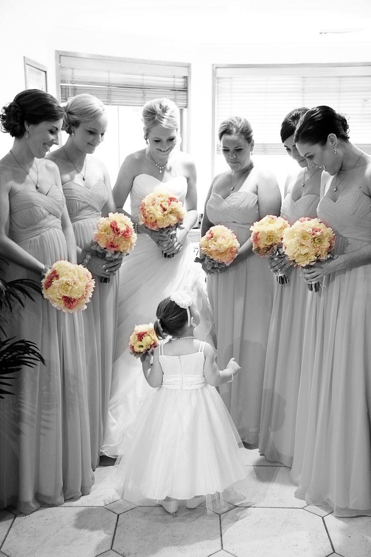 [ wedding photographer Sydney ] bridesmaids  l  bride  l  flowergirl  l  wedding  l  flowers