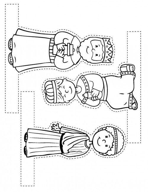 Fabriquer une scène de la Nativité - Levangelisation (section Enfants)