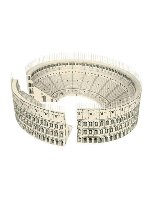 Which Orders Were Used To Build The Colosseum