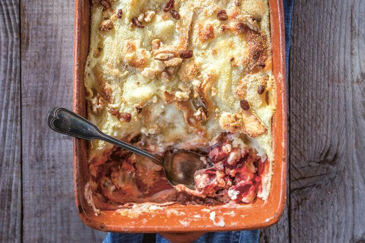 Een recept van Laurens De Meyer uit het boek 'Dagen zonder vlees', waarin bekende koks zoals Jeroen Meus, Peter Goossens, Michaël Vrijmoed en Sofie Dumont ...