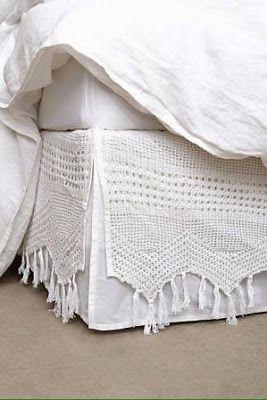 Creatividad Ideas: Dale Estilo a tu Cama con Bonitas Faldas para Colchon