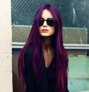 Resultado de imagem para tinta roxa para cabelo