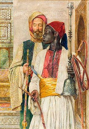 John Frederick Lewis - A young Moorish Nobleman and his servant