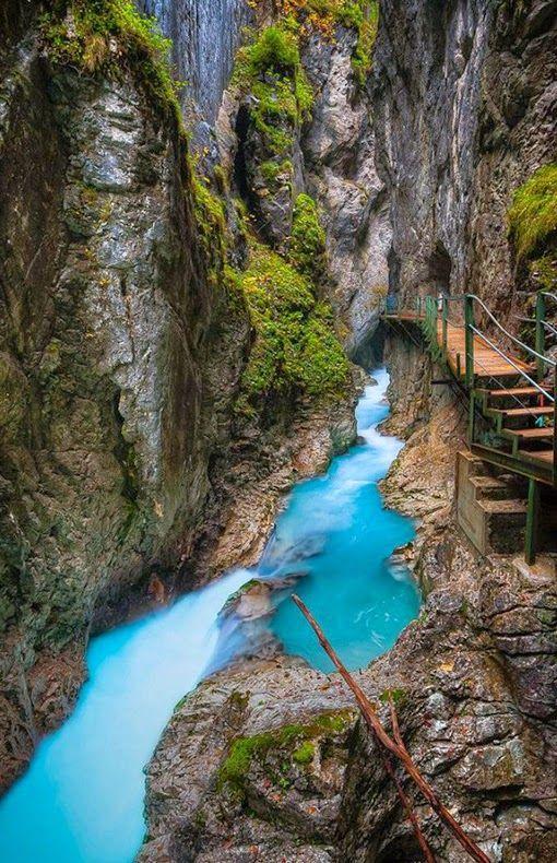 Whirlpool, Leutasch Gorge, Bavaria, Germany