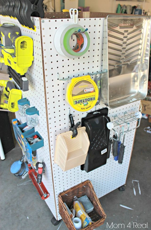 Make Your Own Portable Storage Caddy :: Hometalk