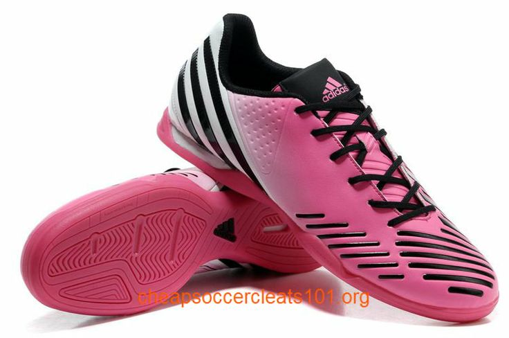 Free Shipping Pink Soccer Cleats Predator Lz Trx Indoor Soccer Boots