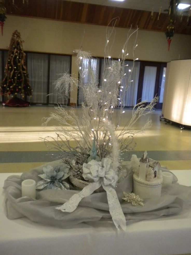 40 best images about for reception on pinterest for Winter themed wedding centerpieces
