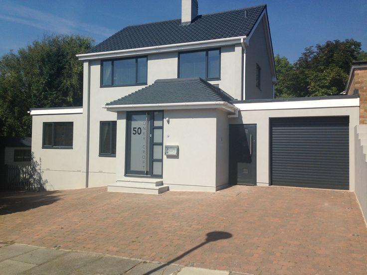 home exteriors grey windows uk - Google Search