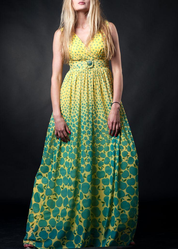 #yellowdresses #greendresses #appledresses #beautydresses #saledresses #summerdresses #maxidresses