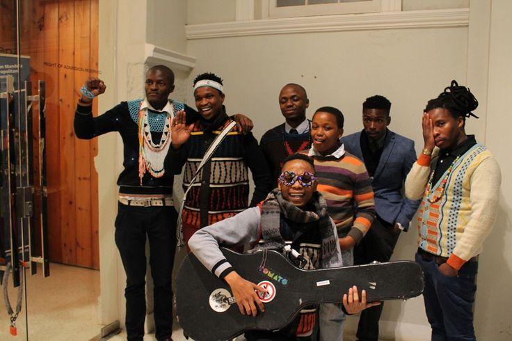 Laduma Ngxokolo, Siyabonga Ngwekwazi, Bamanye Ngxale, Sethu Ngxale , Bongeziwe Mabandla, Thembaleth Manqunyana & Vukile Batyi.   Photo by: Ntsika Tyatya