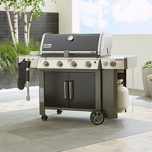 Weber Genesis Ii Lx E 440 Lp Black Gas Grill Outdoor Kitchen Design Prefab Outdoor Kitchen Gas Grill