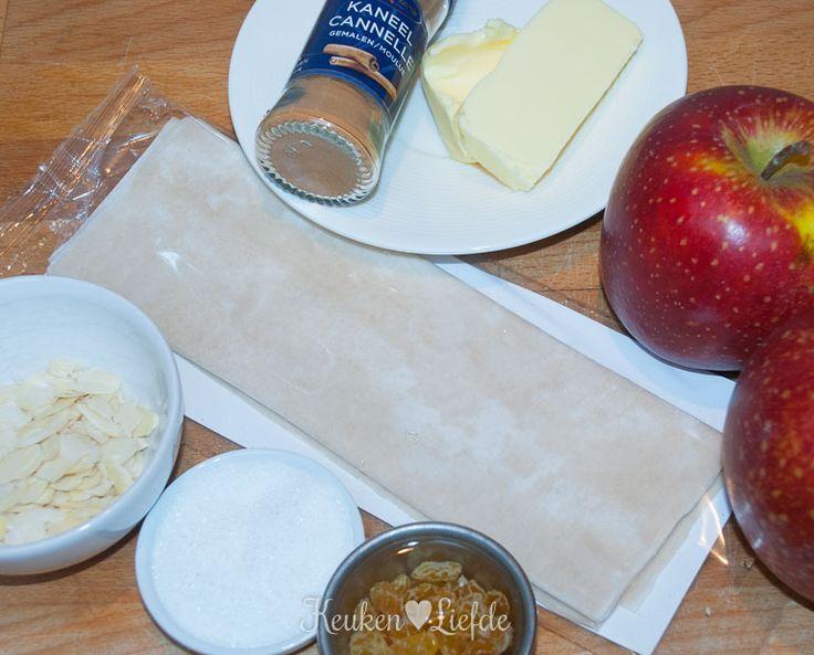 Mini appelstrüdel - Keuken♥Liefde