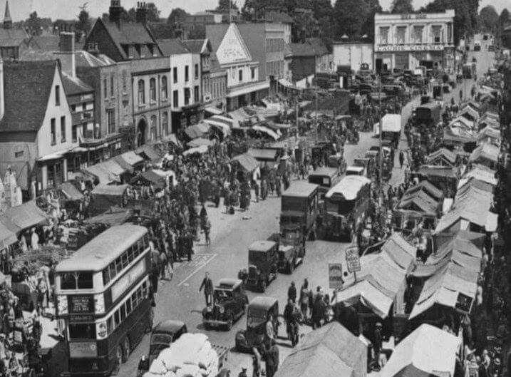 Romford Market 1939