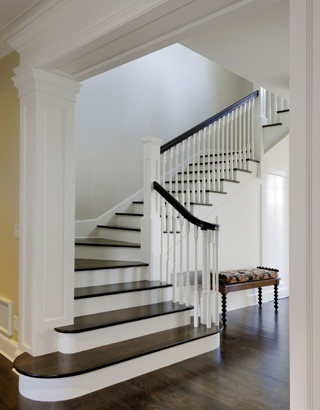 Best Staircase Update Idea Remove Existing Carpet And Add Dark 400 x 300