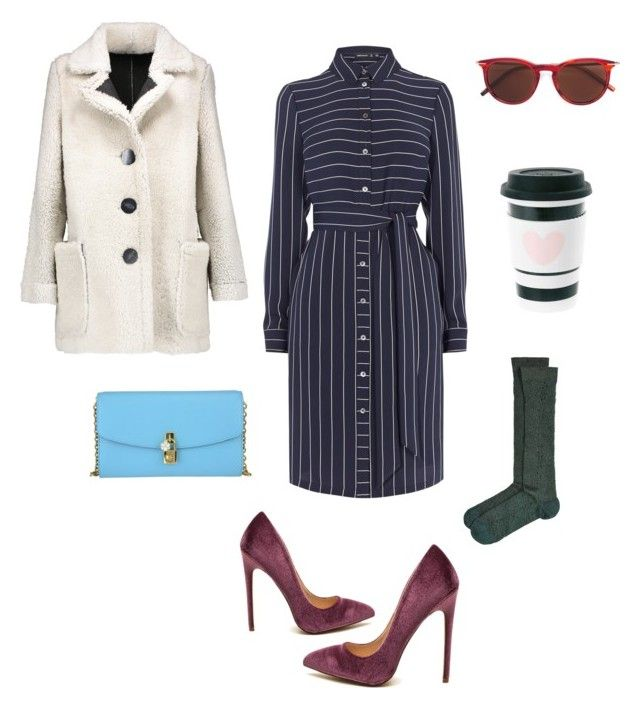 the Woman! by alena-mr on Polyvore featuring polyvore fashion style Karen Millen Karl by Karl Donoghue Golden Goose Tomas Maier Dolce&Gabbana clothing