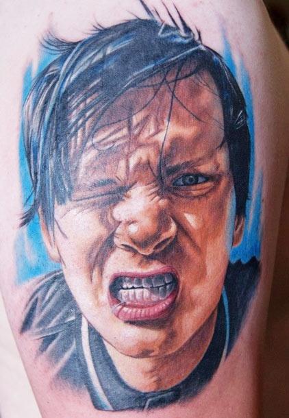 artist chris jones tom delonge ink