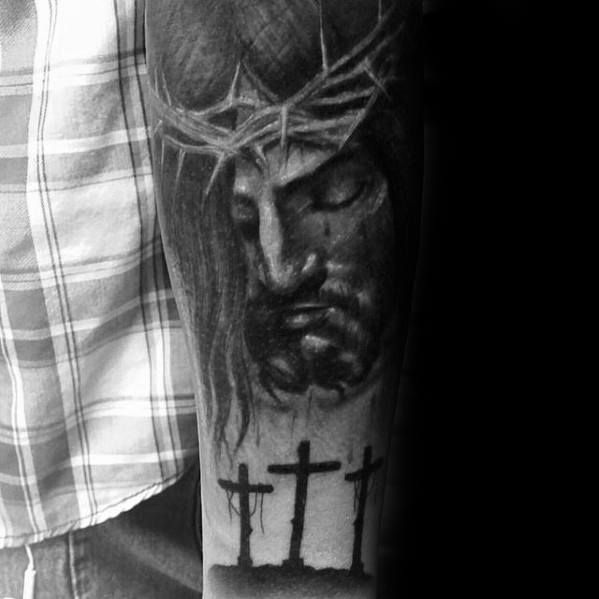 Top 53 Catholic Tattoo Ideas 2020 Inspiration Guide In 2020 With Images Catholic Tattoos Neck Tattoo For Guys Tattoos